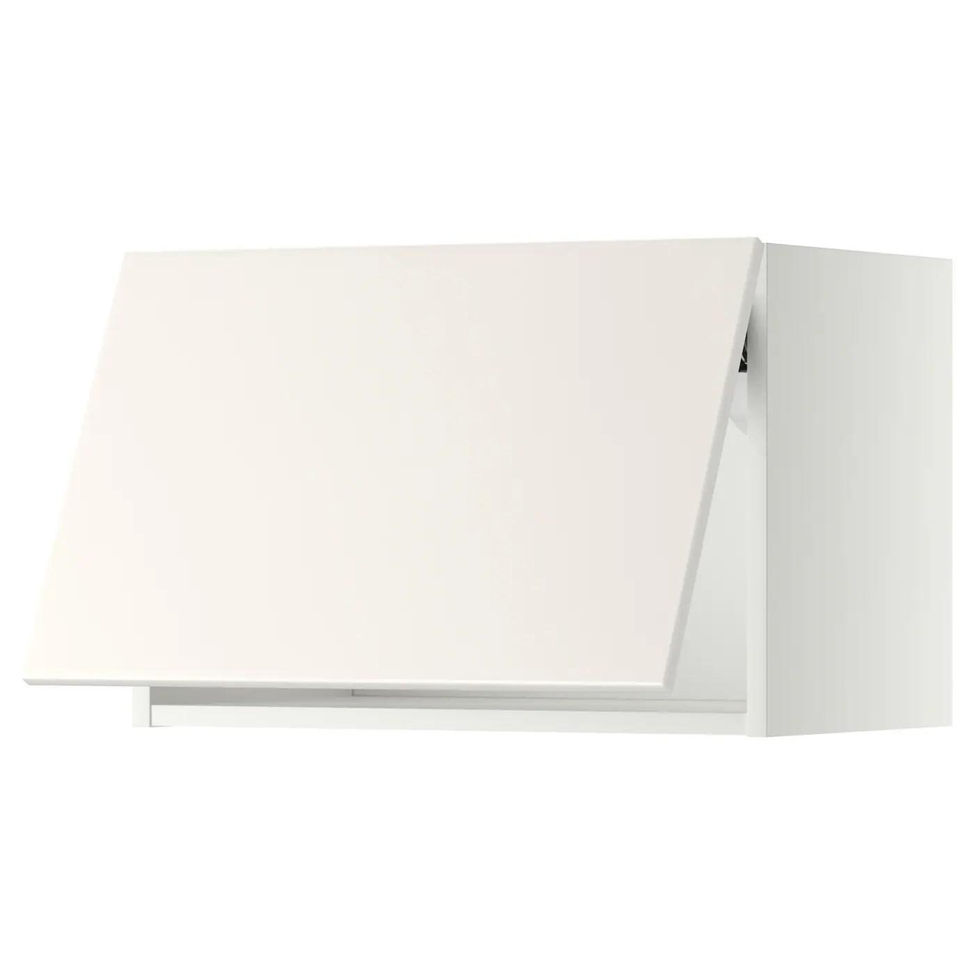 Da bricoman trovi tutti i prodotti al miglior prezzo. Metod Pensile Orizzontale Apertura Press Bianco Veddinge Bianco Ikea It