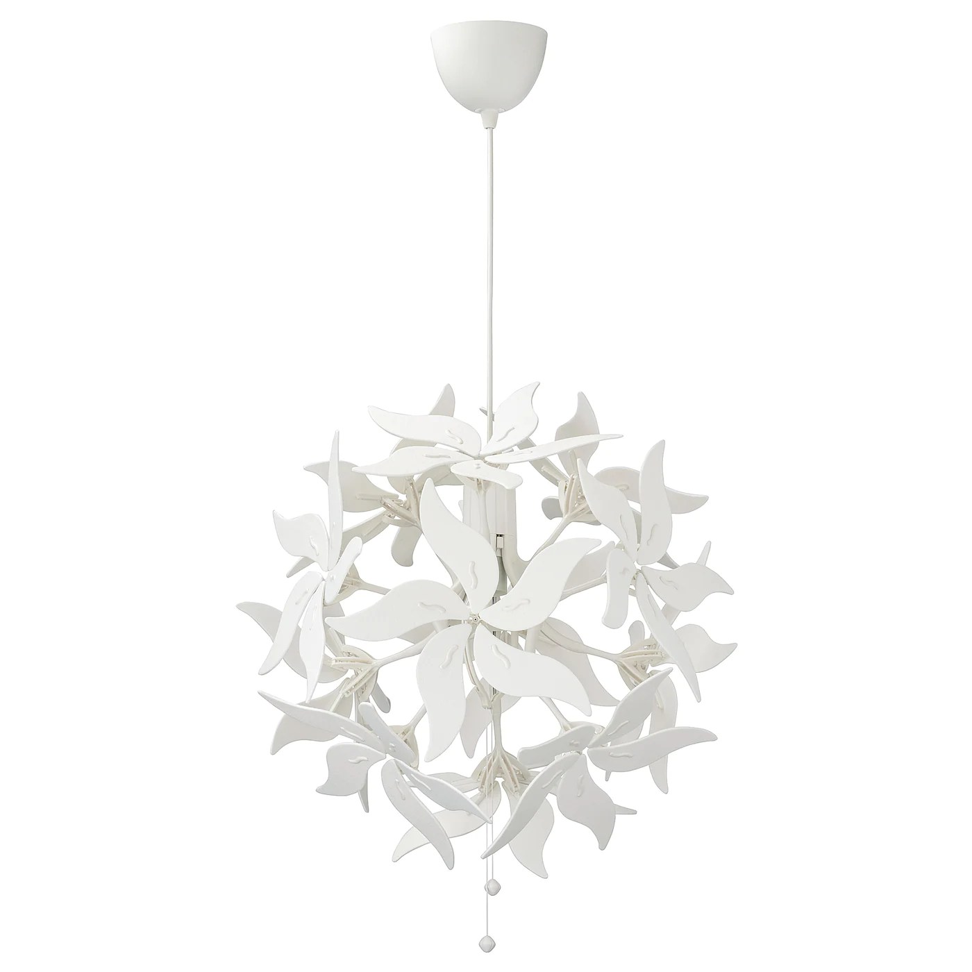 This compensation may impact how and where products appear on th. Ramsele Lampada A Sospensione Fiore Bianco 43 Cm Ikea It