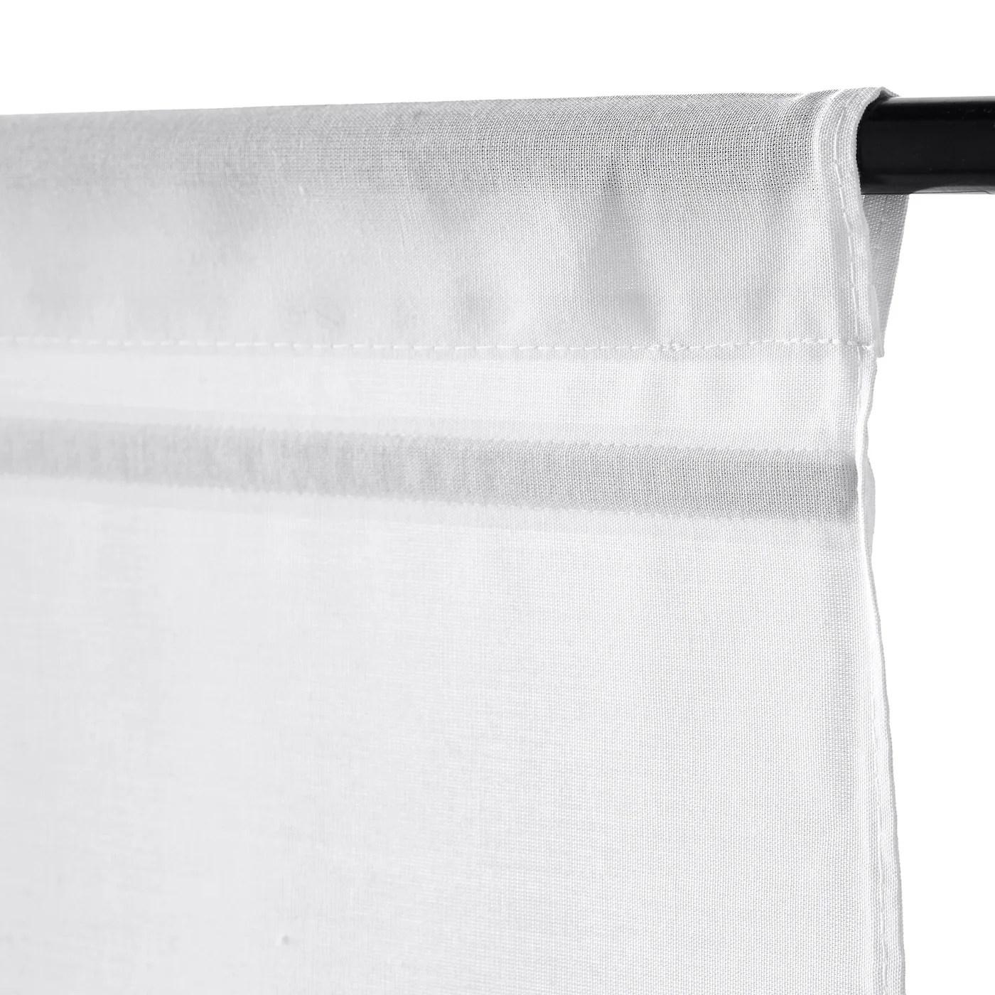 La tenda plissettata schottis, pratica ed. Ringblomma Tenda A Pacchetto Bianco 100x160 Cm Ikea It