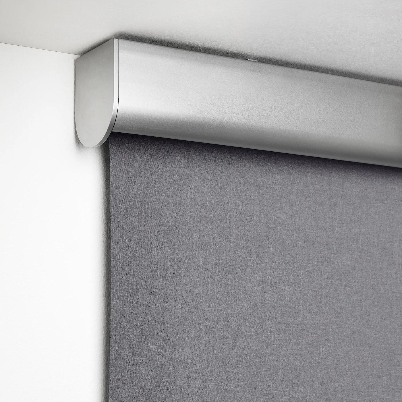 Nuovo tessuto sprint night & day, della collezione passaparola,ideale per ambienti umidi. Tretur Tenda A Rullo Oscurante Grigio Chiaro 120x195 Cm Ikea It