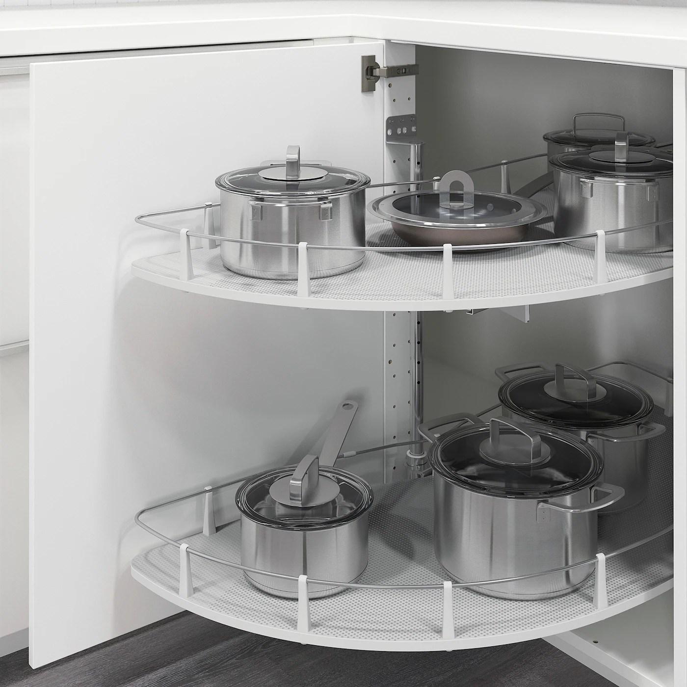 Accessori ed elementi per l'organizzazione interna delle cucine: Utrusta Accessori Estraibili Base Angolare Ikea It