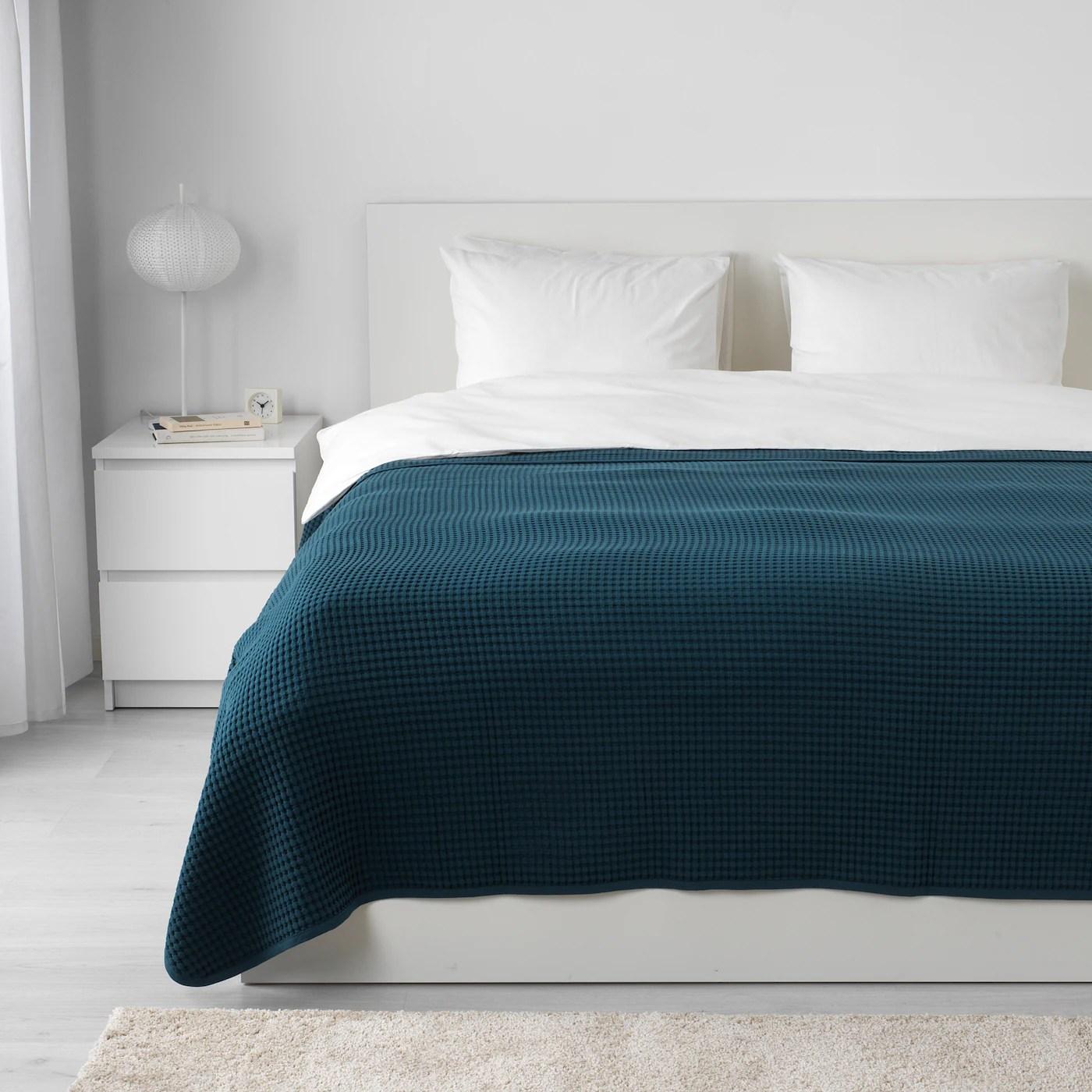 Negli ultimi anni la domanda di trapunte singole ikea è cresciuta in modo. Vareld Copriletto Blu Scuro 230x250 Cm Ikea It