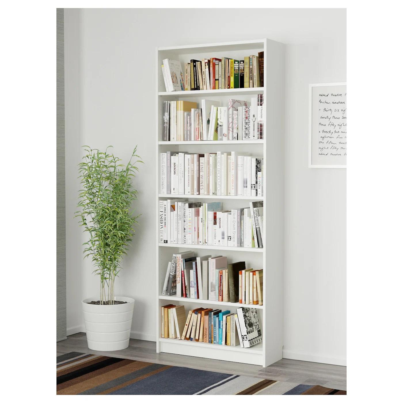 Billy Bookcase White