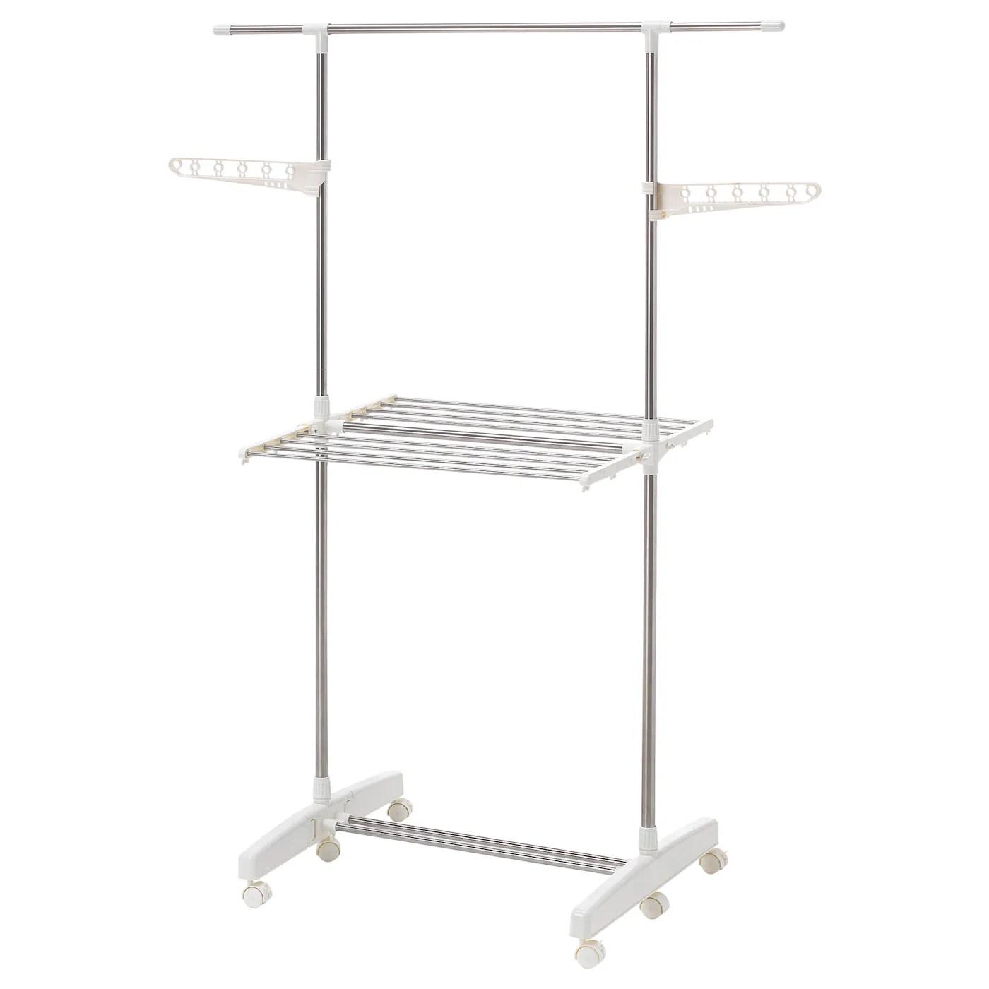 purkla drying rack 2 levels white