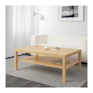 LACK ラック コーヒーテーブル IKEA 雑誌などを収納できる棚が付いているので、テーブルの上がすっきりかたづきます