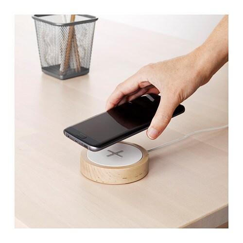NORDMÄRKE ノールドメルケ ワイヤレス充電器 IKEA スマートフォンを手軽にワイヤレスで充電できます。お使いのスマートフォンがワイヤレス充電対応なら、充電パッドの上に置くだけ