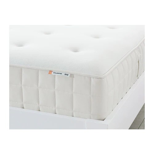 Hyllestad Pocket Sprung Mattress Ikea A Layer Of Memory Foam Moulds To The Contours Your