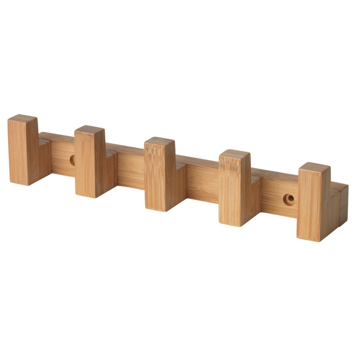 havern hook rack bamboo 28 cm