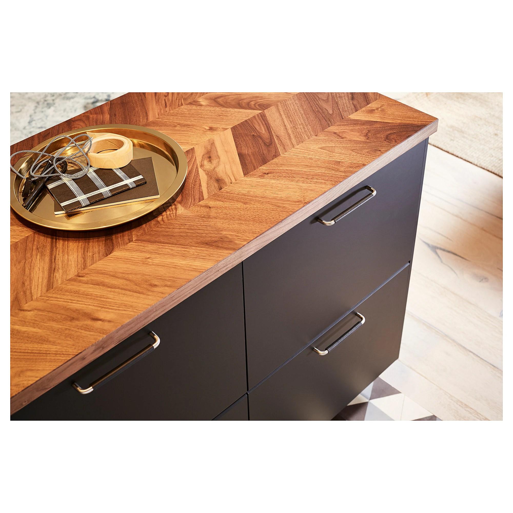 Barkaboda Plan De Travail Noyer Plaque 246x3 8 Cm Ikea