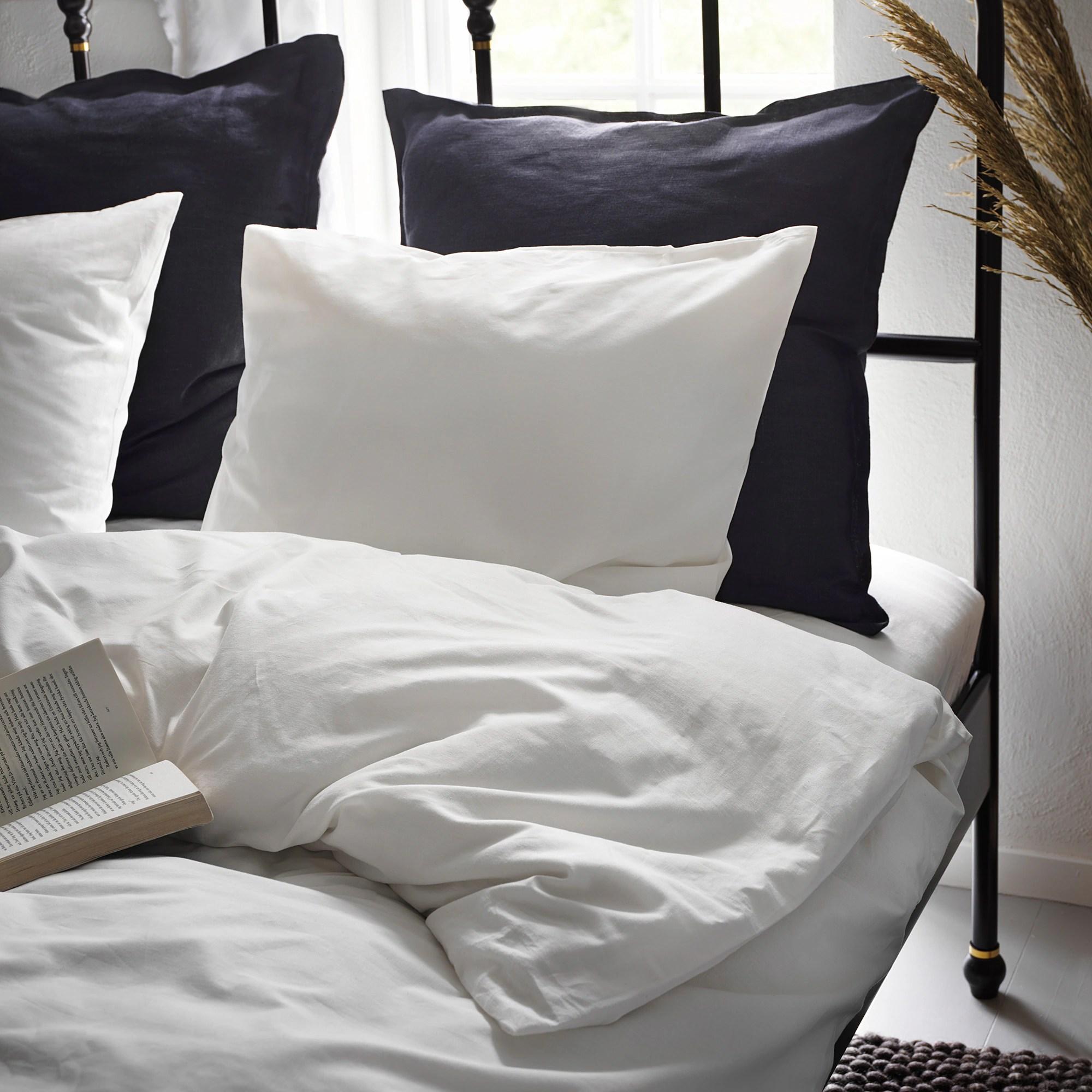 dvala duvet cover and pillowcase s white full queen double queen