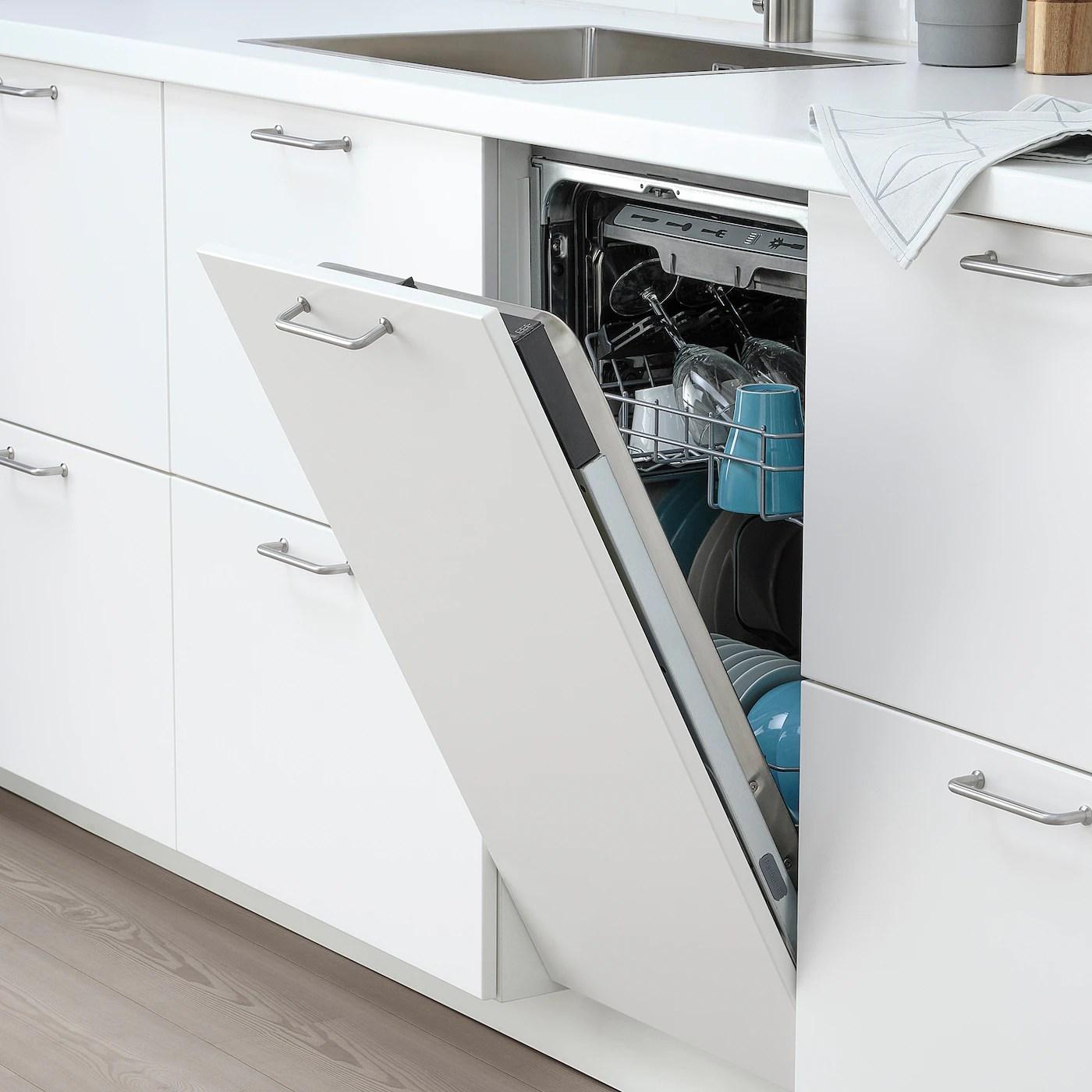 Medelstor Integrated Dishwasher Ikea 500 45 Cm Ikea
