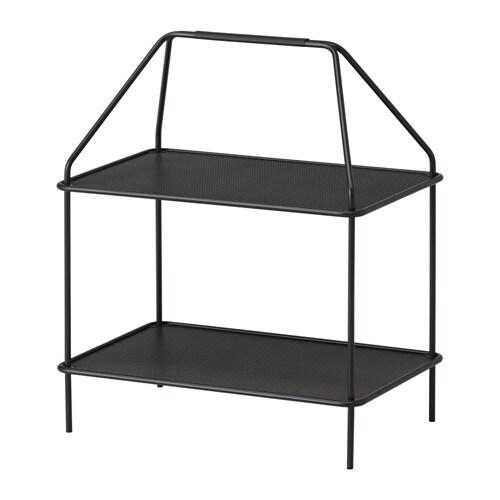 YPPERLIG Tidningshylla IKEA Låg vikt; enkelt att flytta. Perfekt till förvaring av böcker eller små skrivbordsprylar som du vill ha nära till hands.