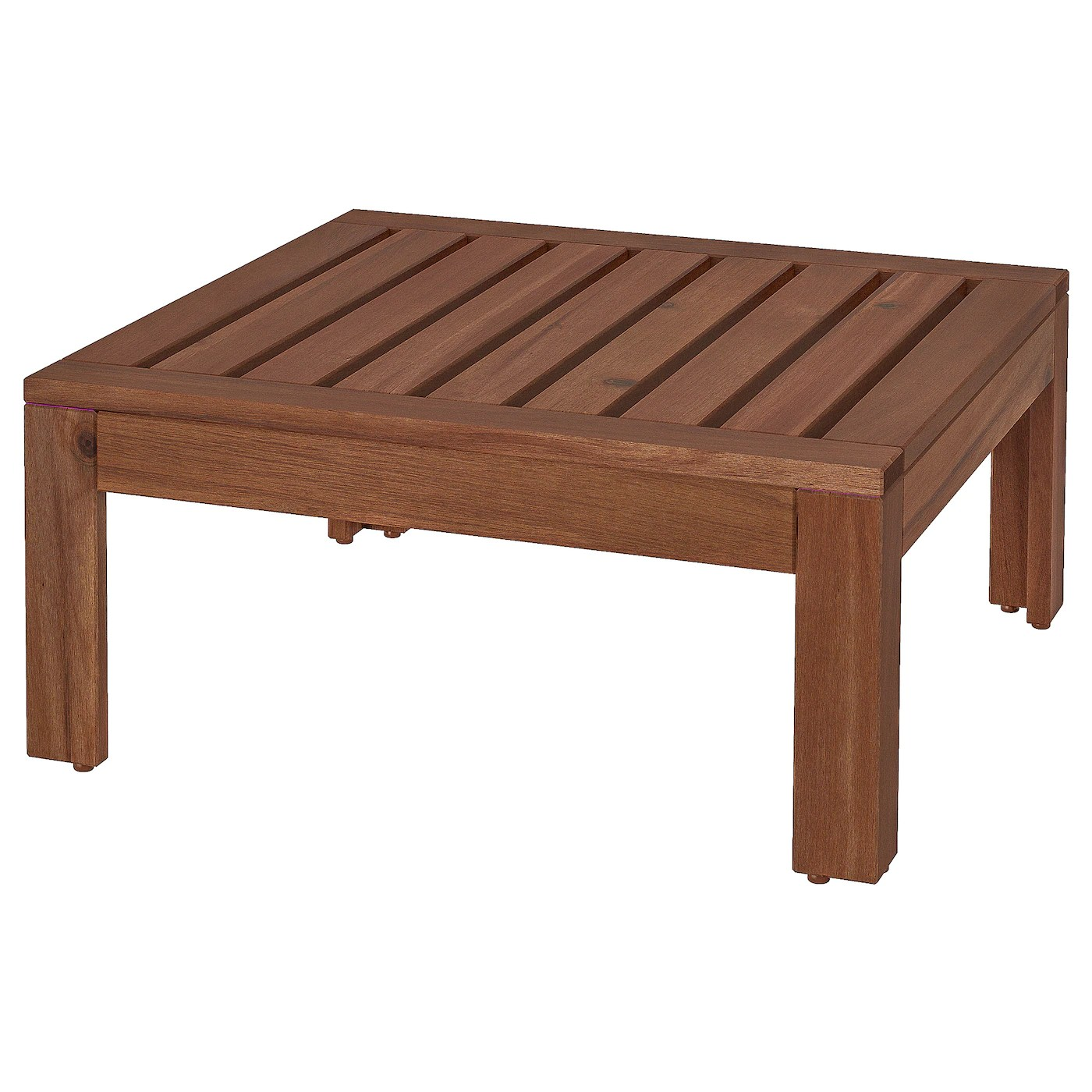 applaro table stool section outdoor brown stained 24 3 4x24 3 4