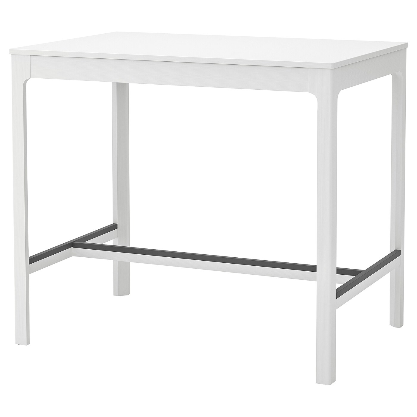ekedalen bar table white 47 1 4x31 1 2x41 3 8