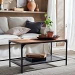 Fjallbo Coffee Table Black 35 3 8x18 1 8 Ikea