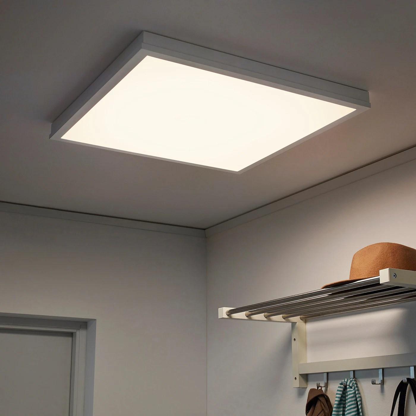 floalt led light panel dimmable white spectrum 24x24