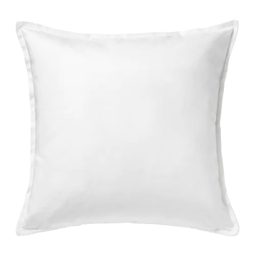 GURLI Cushion cover IKEA The zipper makes the cover easy to remove. Choose between a feather- or polyester-filled inner cushion.