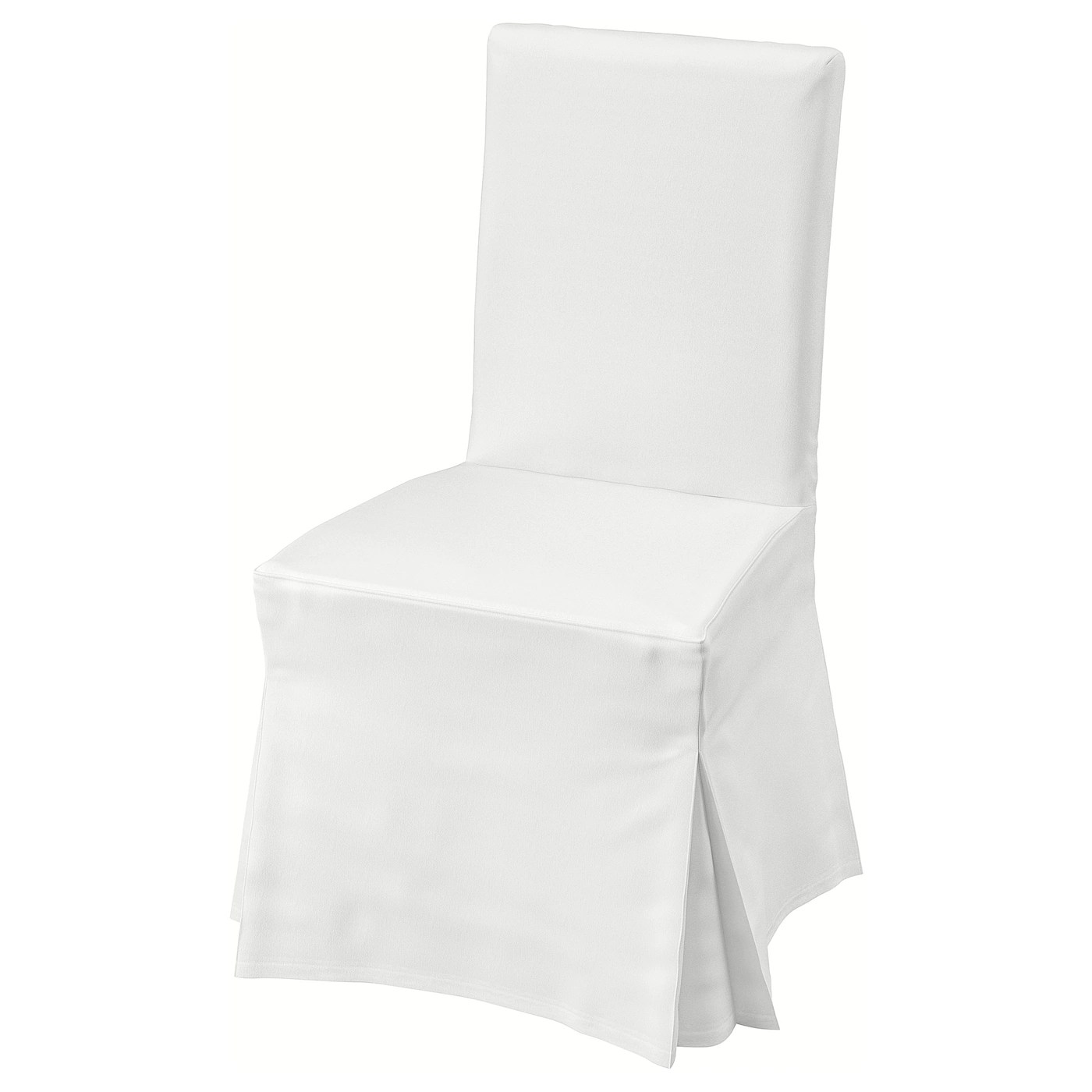 Henriksdal Chair With Long Cover Blekinge White Width 21 1 4 Order Here Ikea