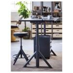 Idasen Desk Sit Stand Black Dark Gray 63x31 1 2 Ikea