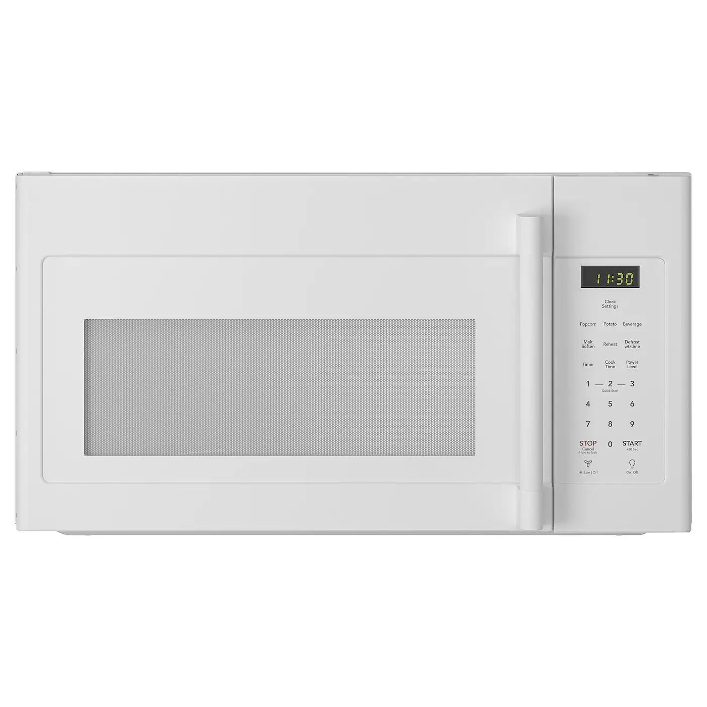 lagan over the range microwave white