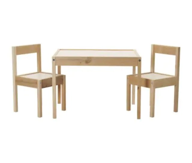Latt Childrens Table And 2 Chairs