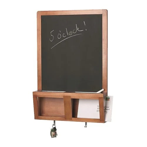 "LUNS Writing/magnetic board, antique stain Width: 19 "" Height: 28 ""  Width: 48 cm Height: 71 cm"