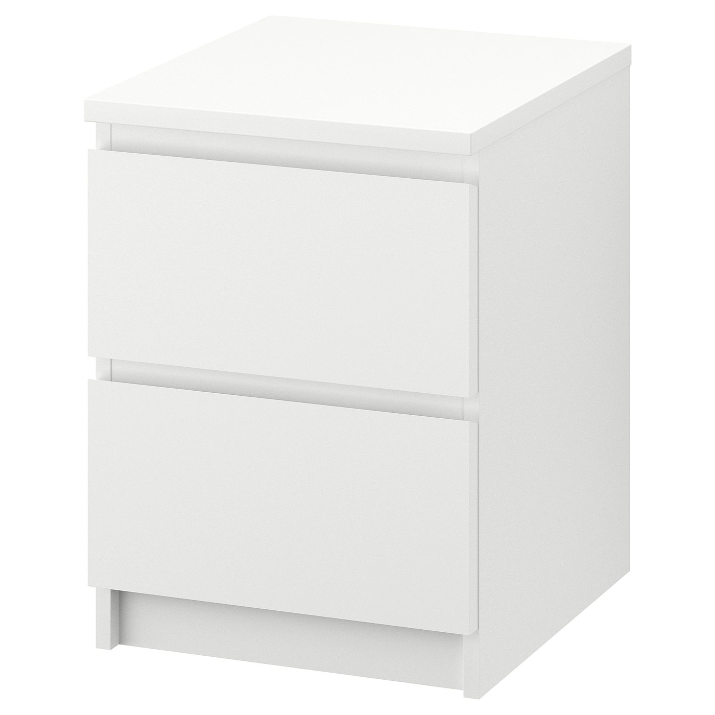 Malm 2 Drawer Chest White 15 3 4x21 5 8 Ikea