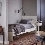 Malm Bed Frame High White Luroy Twin Ikea