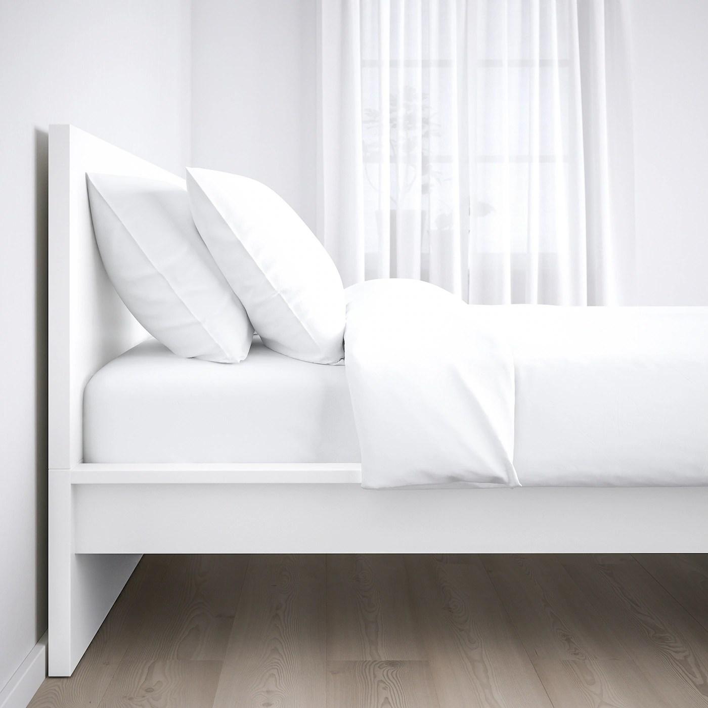Malm Bed Frame High White Full Ikea