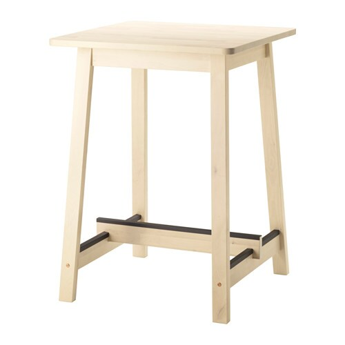 NORRÅKER Bar table IKEA Durable and sturdy; meets the requirements on furniture for public use.