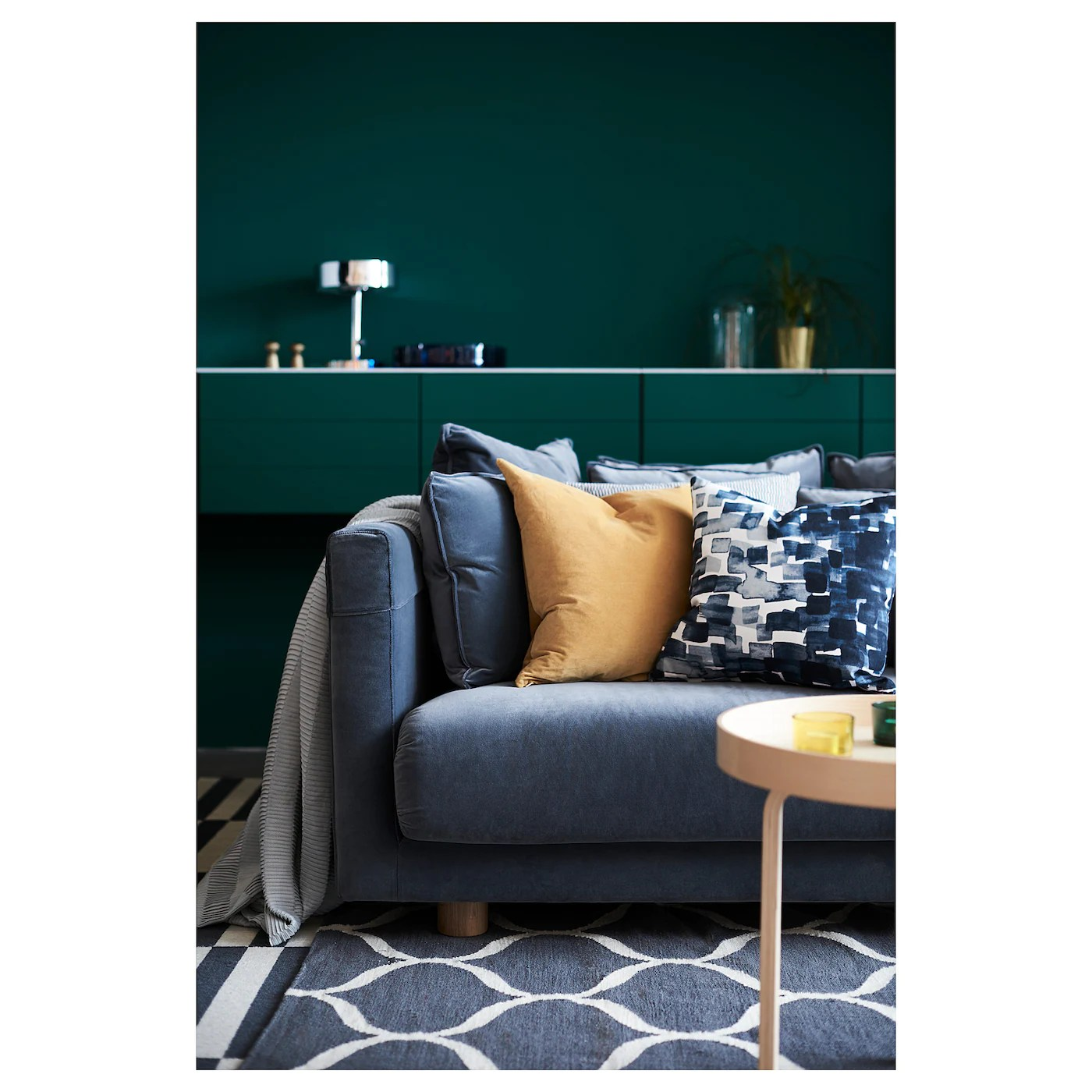 sanela cushion cover golden brown 20x20
