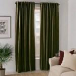 Sanela Room Darkening Curtains 1 Pair Olive Green 55x118 Ikea