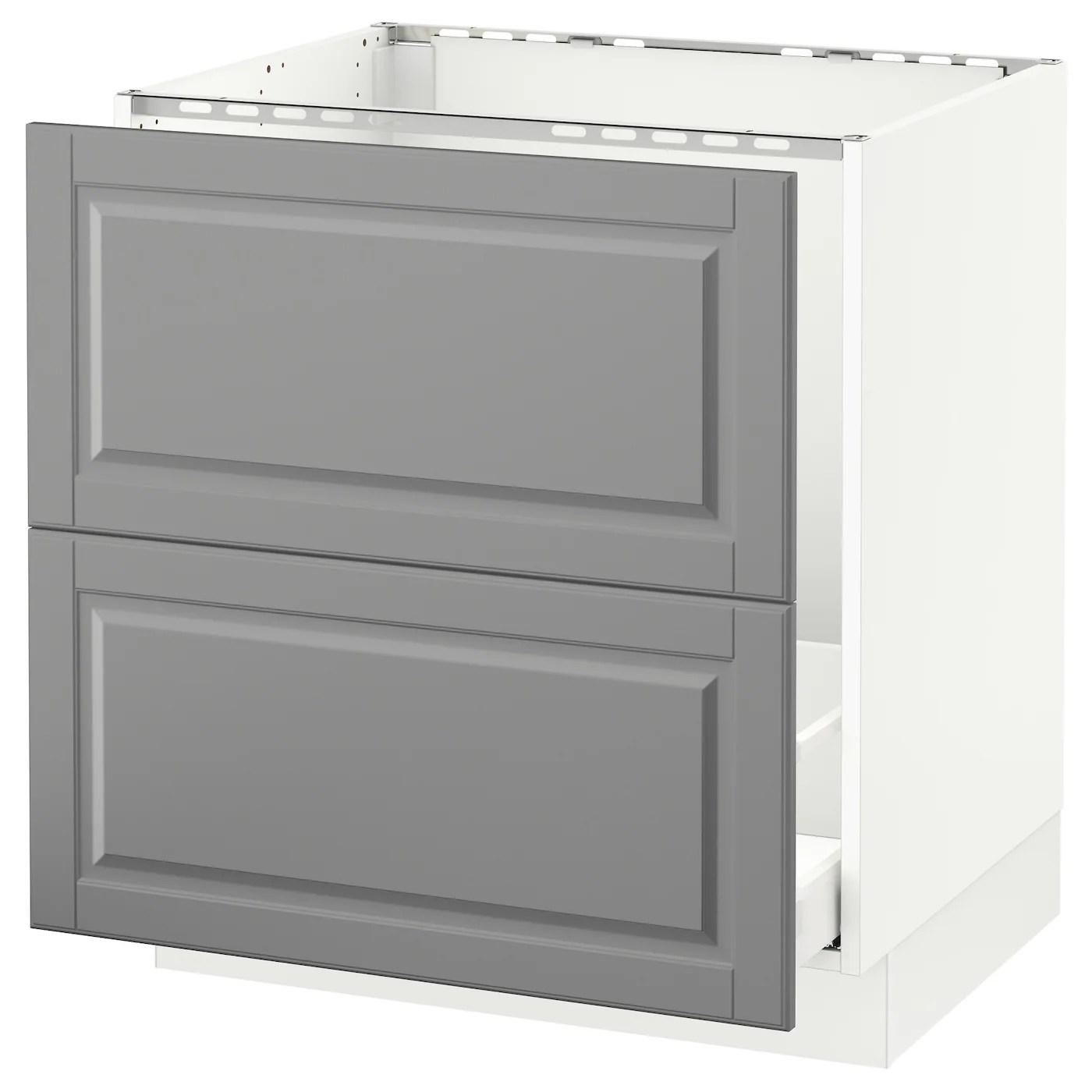sektion base cabinet f sink recycling white maximera bodbyn gray 30x24x30