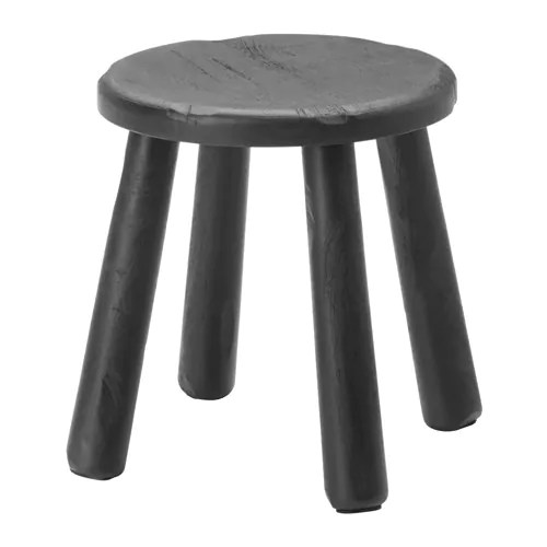 SVÄRTAN Side table/stool IKEA This stool is sandblasted, giving it an uneven and vibrant surface.