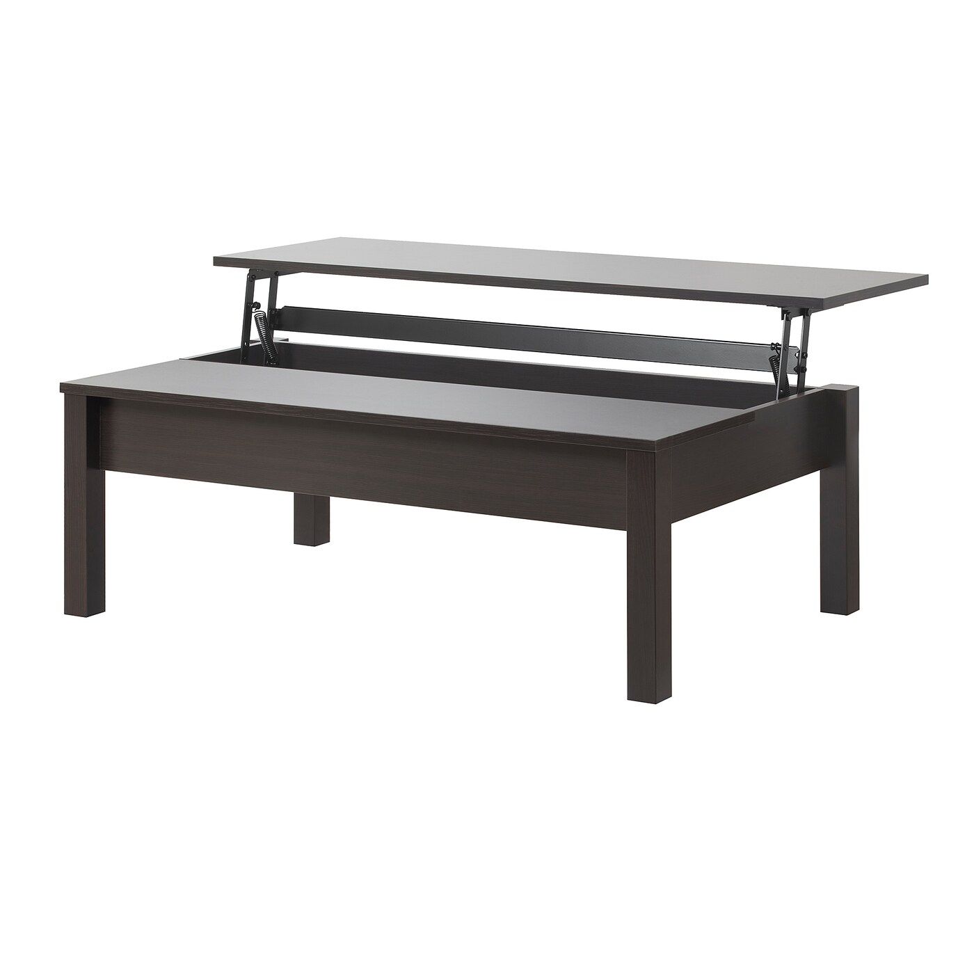 trulstorp coffee table black brown 45 1 4x27 1 2