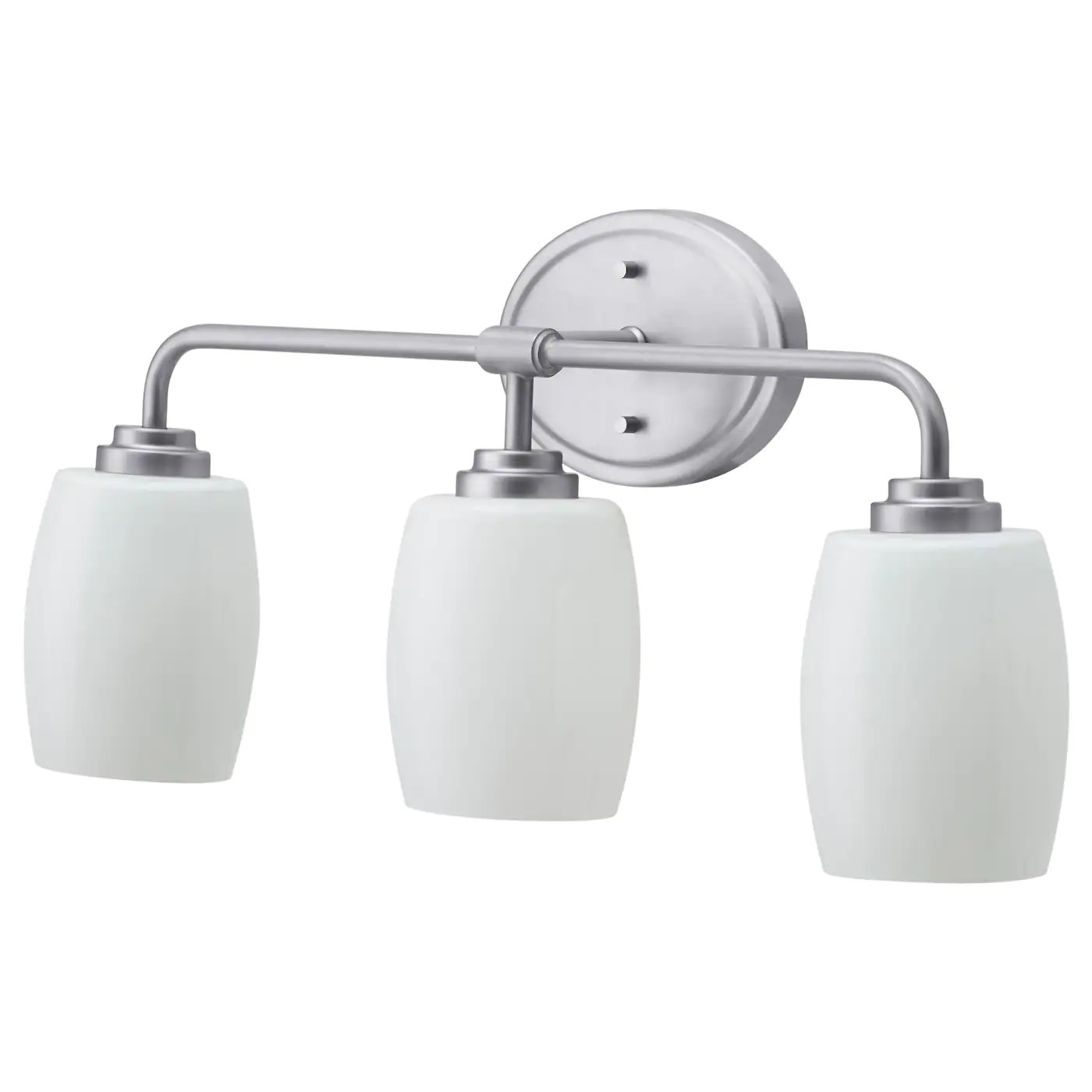 vallmora wall lamp 3 spots nickel plated