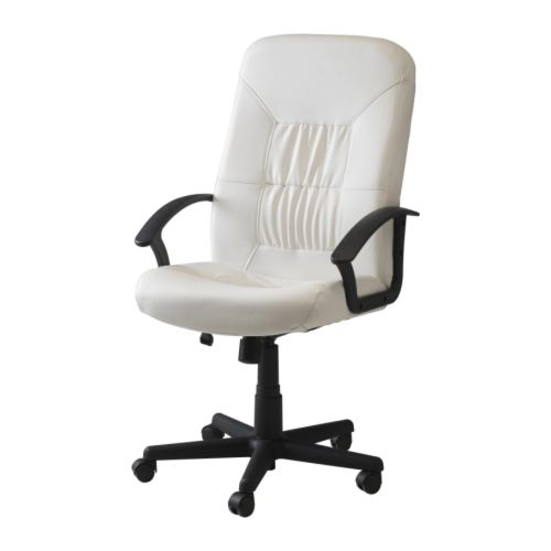 "VERNER Swivel chair, white Width: 24 3/8 "" Depth: 27 1/2 "" Min. height: 42 1/8 "" Max. height: 47 1/4 "" Seat width: 20 1/2 "" Seat depth: 18 1/2 "" Min. seat height: 16 7/8 "" Max. seat height: 23 5/8 ""  Width: 62 cm Depth: 70 cm Min. height: 107 cm Max. height: 120 cm Seat width: 52 cm Seat depth: 47 cm Min. seat height: 43 cm Max. seat height: 60 cm"