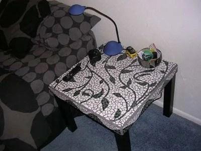 Make Mine A Mosaic Table Ikea Hackers