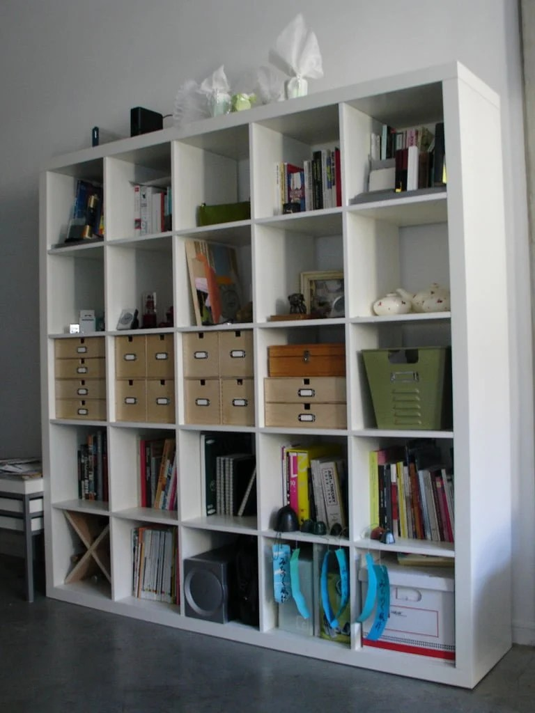 Organise Your Expedit Bookcase Ikea Hackers