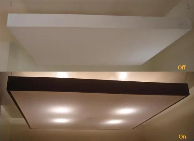 Panel Dome Kitchen Lighting