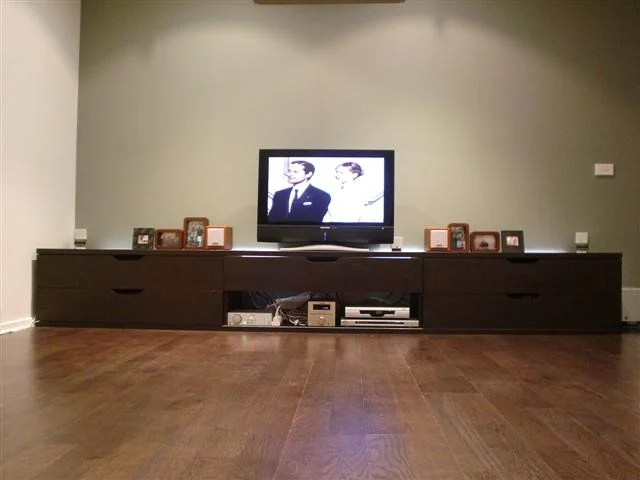 Extra Long Stolmen Tv Bench For X Large Living Space