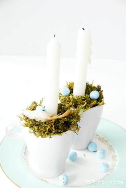 Easter decoration - candle holder