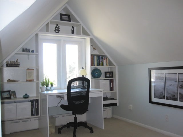 Bright Built In Office Nook From Reused Ikea Pieces Ikea
