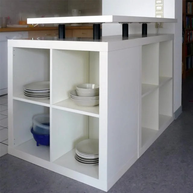 l shaped expedit kitchen island ikea hackers. Black Bedroom Furniture Sets. Home Design Ideas