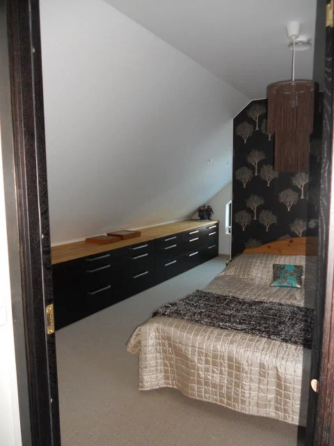 Luxury Kitchen cabinets in bedroom