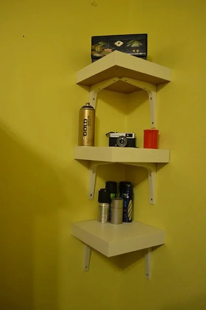Lack Table Corner Shelf Hack IKEA Hackers IKEA Hackers