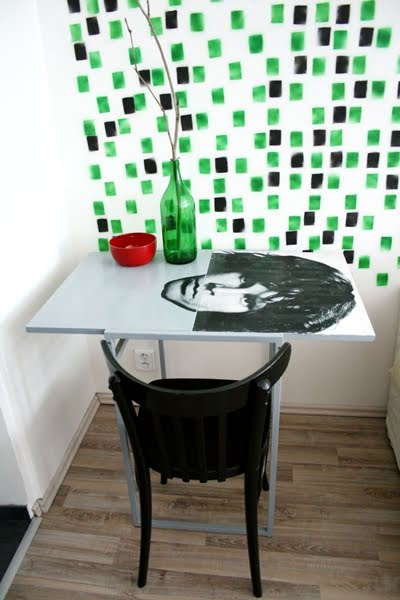 Cool Jim Morrison table