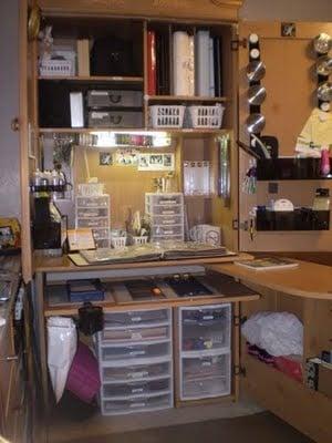 Craft Cabinet Ikea Hackers