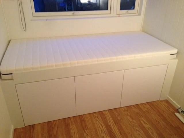 Appl 229 D Storage Bed Ikea Hackers