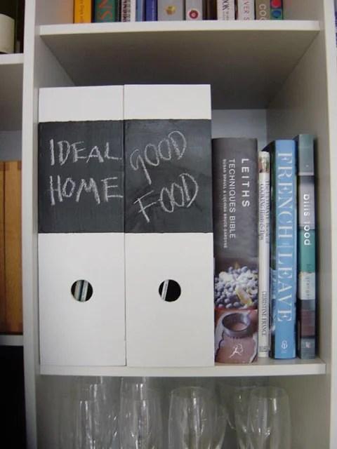Ikea chalkboard magazine box - IKEA Hackers - photo#3
